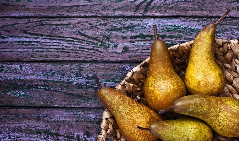 Καραμελωμένα αχλάδια