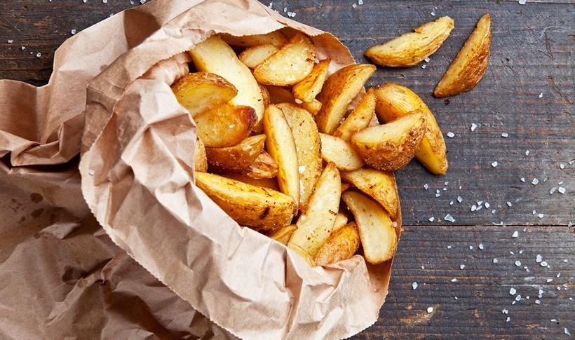 Πατάτες τηγανητές, τριπλομαγειρεμένες