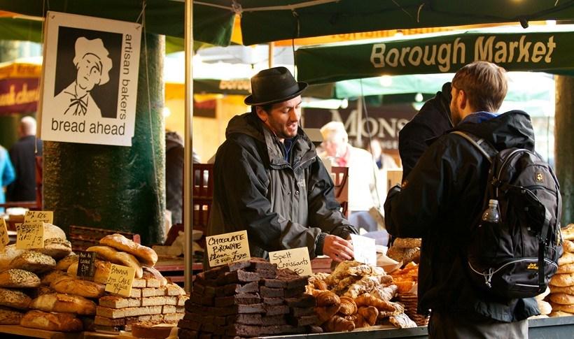 Λονδίνο: 9 αγορές τροφίμων που πρέπει να επισκεφτείτε