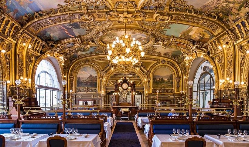 4 εντυπωσιακά εστιατόρια μέσα σε σταθμούς τρένων