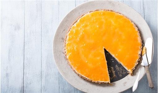 Cheesecake με μαρμελάδα βερίκοκο