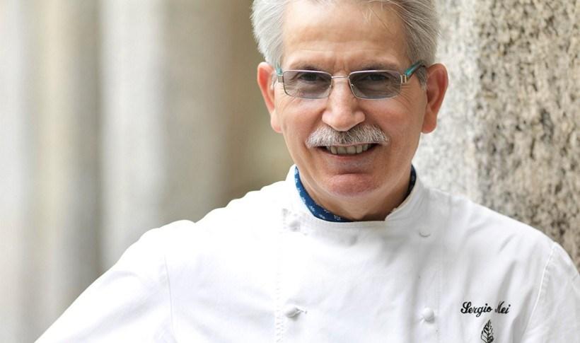 Μανιτάρια πορτσίνι αλά μιλανέζε από τον Sergio Mei, executive chef στο Four Seasons Hotel Milano
