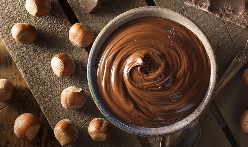 Πραλίνα σπιτική με σοκολάτα γάλακτος