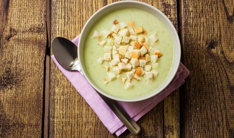 Βελουτέ σούπα μπρόκολο