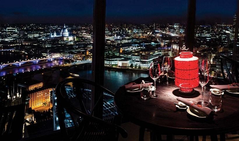 Λονδίνο: Τα εστιατόρια με την καλύτερη θέα στην πόλη