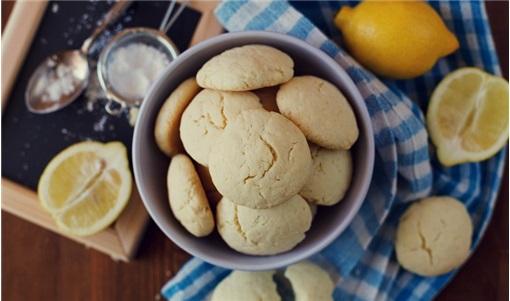 Μαλακά cookies λεμονιού