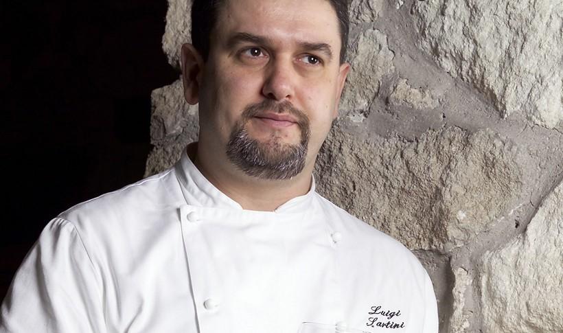 Ανοιχτά λαζάνια με μοσχάρι ραγού από τον Luigi Sartini, σεφ του Ristorante Righi στο Σαν Μαρίνο