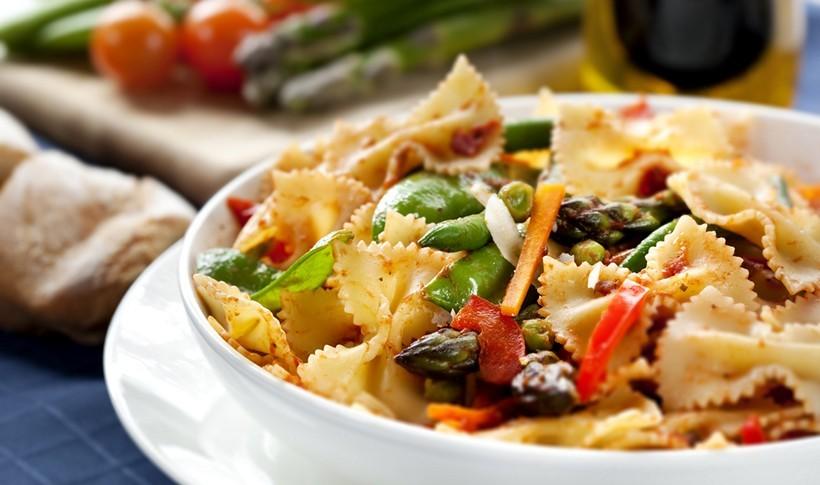Ζυμαρικά Primavera με λαχανικά